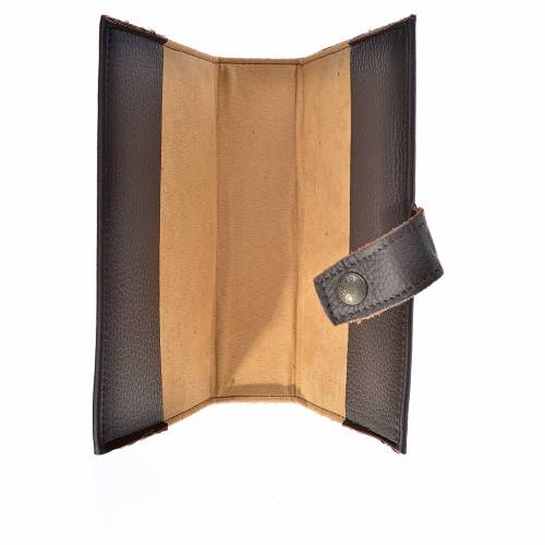 Daily prayer cover genuine leather Our Lady of the new Millennium s3