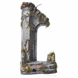 Demi-arc temple pour crèche 30x15x12 cm s1
