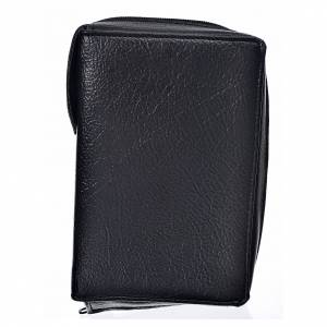 Divine office cover, black bonded leather s1