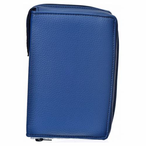 Divine office cover, light blue bonded leather s1