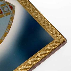 Bilder, Miniaturen, Drucke: Druck Papst Johannes Paul II mit Krummstab