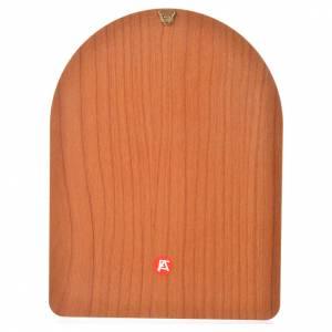 Druk na drewnie 15 X 20cm Jezus Miłosierny s2