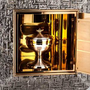 Tabernacles: Embossed tabernacle with cross
