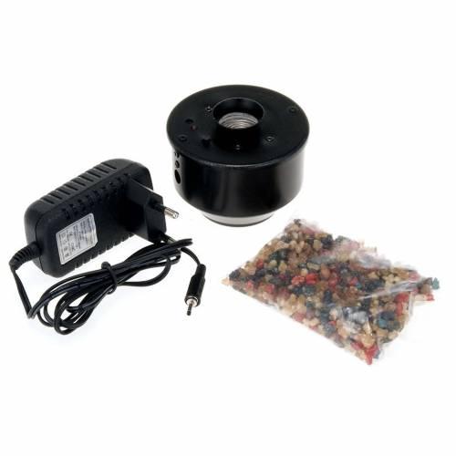 Encensoir électronique noir pour église 7.5x7,5cm s3