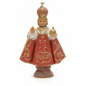 Statues en résine et PVC: Enfant Jésus de Prague, statue 7 cm Fontanini