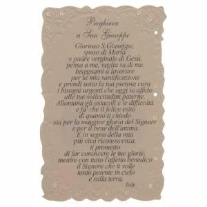 Estampas Religiosas: Estampa San Giuseppe con oración (italiano)
