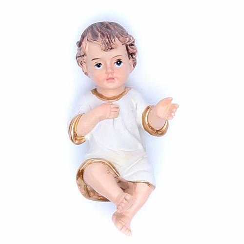 Estatua Niño Jesús 6,5 cm resina s1