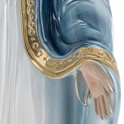 Estatua Virgen Milagrosa 40 cm. yeso s4