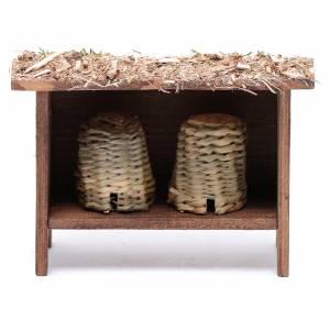 Animales para el pesebre: Estructura para colmena 10x10x5 cm