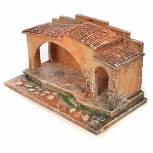 Etable crèche Fontanini 6,5 cm s3