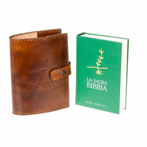 Etui en cuire La Bible de CEI-UELCI s5