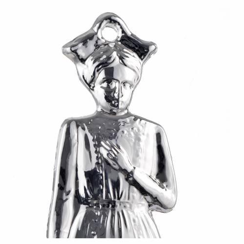 Ex-voto enfant argent 925 ou métal 15 cm s2