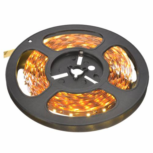Fairy lights 5m strip with 300 warm white LED for indoor use with adhesive s1