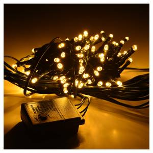 Christmas lights: Fairy lights 96 LED, warm white, for indoor and outdoor use