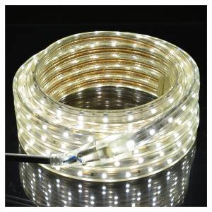 Christmas lights: Fairy lights slim strip with 300 ice white LED for indoor/outdoor use