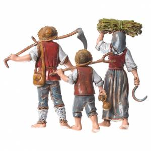 Famille agriculteurs 3 pcs 10 cm Moranduzzo s2