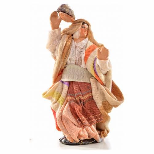Femme arabe au linge crèche Napolitaine 6 cm s1