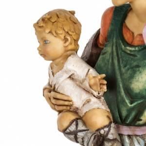 Femme et enfant crèche Fontanini 65 cm résine s5