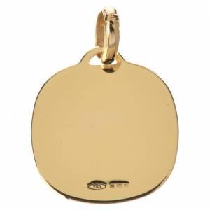Ferruzzi's Madonna pendant in 18k gold 1,67 grams s2