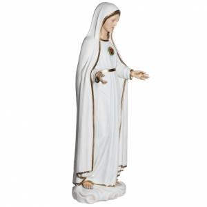 Fiberglas Statuen: Fiberglas Madonna von Fatima 120 cm