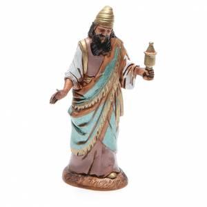 Belén Moranduzzo: Figura Rey Mago mulato 10 cm belén Moranduzzo en trajes de época