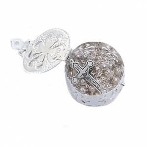Filigree porcelain round box s5