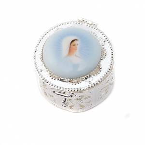 Filigree porcelain round box s3