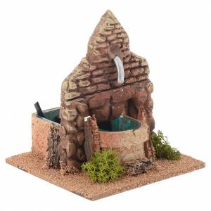 Fontana terracotta stile arabo 13x12x12 cm s3