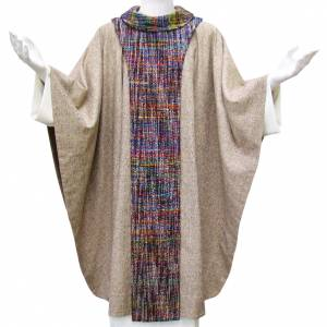 Chasubles: Franciscan chasuble with scapular