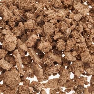 Moos, Stroh und Bäume für Krippe: Fußboden Krippe: natürlicher Kork 50 Gramm