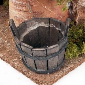 Fuente para pesebre con bomba de agua eléctrica de 2,5 v s4