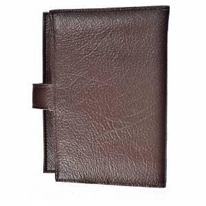 Funda Biblia CEE grande Trinidad simil cuero marrón oscuro s2