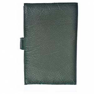 Funda Biblia Jerusalén Nueva Ed. Kiko Virgen s. cuero verde s2