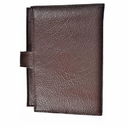 Funda Biblia Jerusalén Nueva Ed. Trinidad s. cuero marrón oscuro s2
