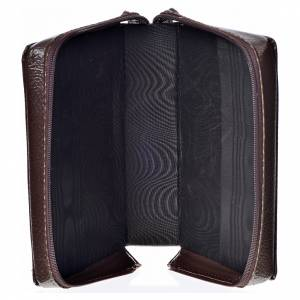 Funda Sagrada Biblia CEE ED. Pop. marrón oscuro simil cuero Pant s3