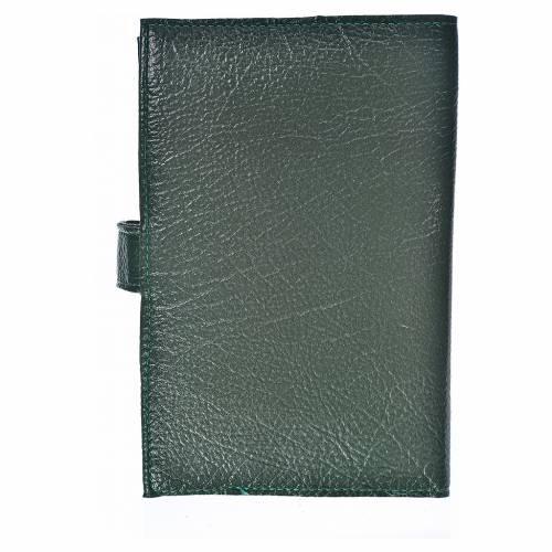 Funda Sagrada Biblia CEE ED. Pop. Virgen Kiko simil cuero verde s2