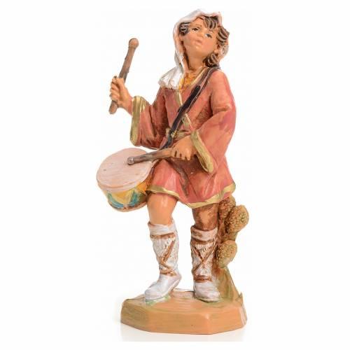 Garçon au tambour crèche 9,5 cm Fontanini s1