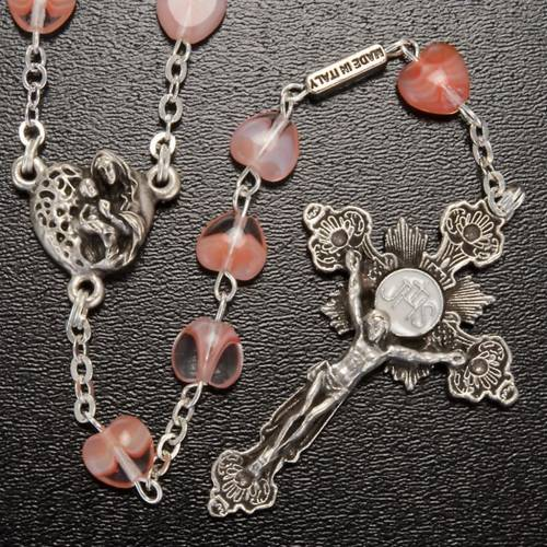 Ghirelli rosary beads in Bohemia glass 8x8 s2