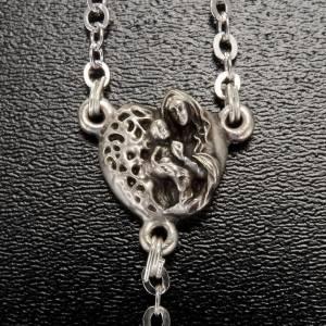 Ghirelli rosary beads in Bohemia glass 8x8 s3
