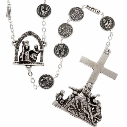 Ghirelli rosary beads, Notre Dame de Paris Pietà 10mm s1