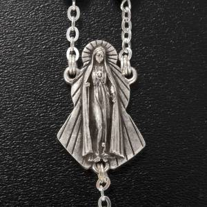 Ghirelli rosary in hematite, round grains 6mm s6