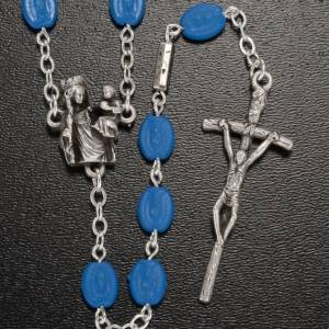 Ghirelli outlet rosary beads: Ghirelli rosary, Notre Dame de Paris medals 6x8mm
