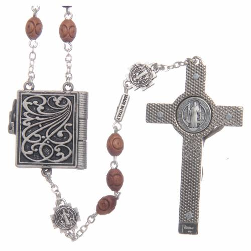 Ghirelli rosary, Saint Benedict s2