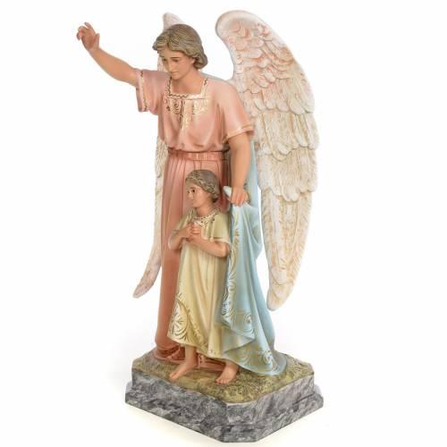 Guardian Angel 50cm, wood paste, elegant decoration s2