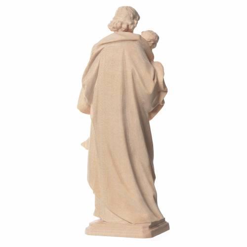 Guido Reni's Saint Joseph in natural Valgardena wood s2