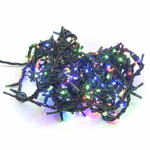 Guirlande Noël intérieur 300 mini leds colorés s1