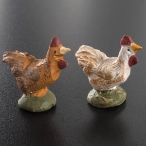 Krippe aus Terrakotta: Hahn Terrakotta Deruta 18 cm