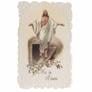 He is Risen holy card with prayer in ENGLISH s1