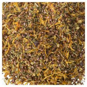 Inciensos, bálsamos y resinas: Hierbas aromáticas con incienso 180 gr