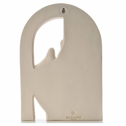 Holy Family arch, fire clay s3